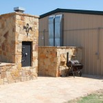 Riverview Ranch hunting lodge exterior